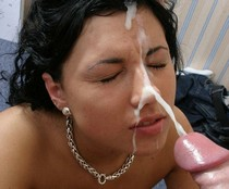 Huge facial cumshot amateur photo