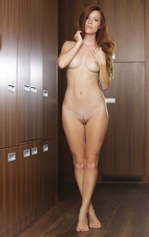 Nude young lady