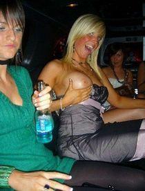 Drunk mummies frolic in club