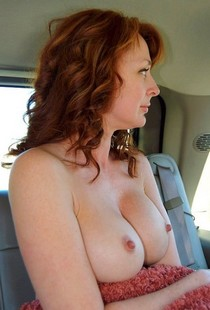 Sexy Mature Ginger.