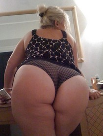 Photo with superb blonde mature.