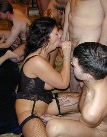 Group sex swinger party homemade porn picture