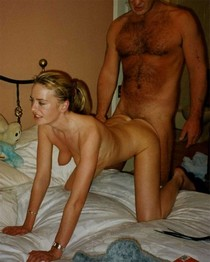 Mature mistress enjoys her pussy getting pounded in doggy-style