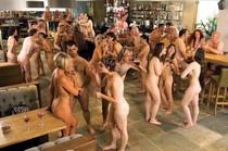 Lesbian orgy just a bar.