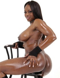 Jada Fire big oiled booty