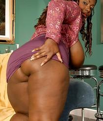 BBW Porn Big Mature Black Babe Porn Pic