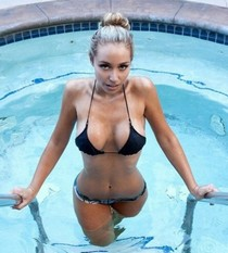 Wonderful bimbo milf has so nice big awesome breasts and hot big booty
