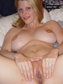 Beautiful MILF wife showing her big breast and pussy