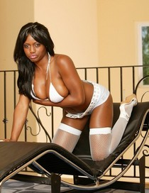 Jada Fire sexual white Pantyhose