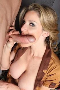 Hot blowjob photo featuring hot mature.