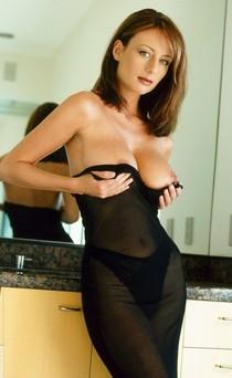 Hot Milf show her boobs