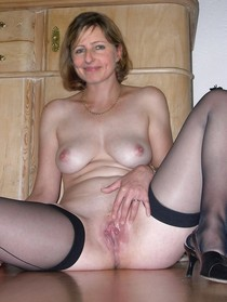 Amazing homemade pic with fabulous blonde mature.