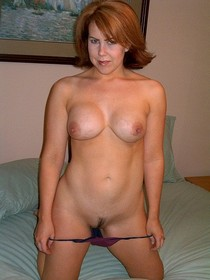 Naughty Mature with great rack