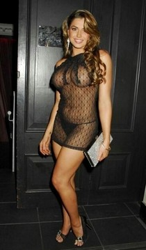 Hot mature lingerie in this pic.