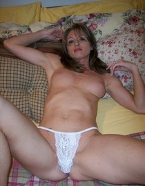Amazing novice thong pic with sexy mom.