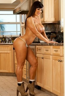 Hot brunette Lisa Ann..