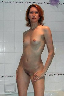 Nude Bathroom Wife Photo