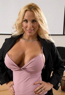 Mature lovely teacher with big tits naked in the classroom