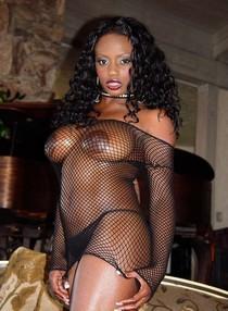 Jada Fire in sexual Lingerie