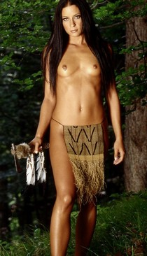 I'd fuck her stupid Native Babe.