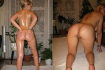 Free amateur porn - awesome butt of just fucked hottie mistress