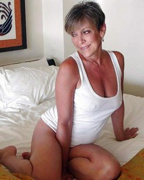 Hot Mature with beautiful tits at home