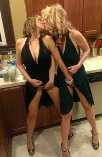Two milfs starting the night right!The post Two milfs starting the night right! appeared..