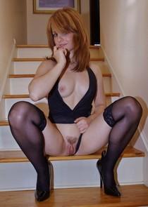 Ginger lady.