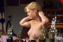 Kim Poirier topless movie scene from Paradise Falls