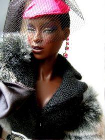 Black Barbie, love the fashion