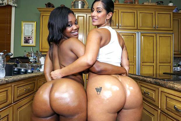 Double the hot huge asses.